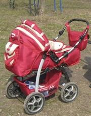 Продам коляску-трансформер Trans baby (зима-лето).