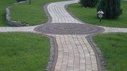 Мощение тротуарного камня