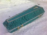 Обшитые гробы четырех и шести гранные