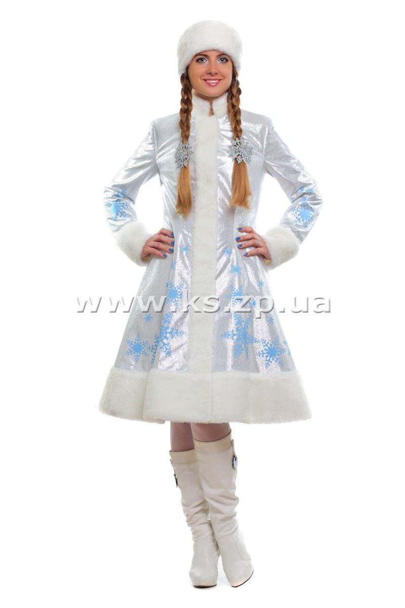 Новогодний костюм снегурочки для взрослых в картинках фото 170-134