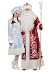Новогодние костюмы Деда Мороза и костюмы Снегурочки
