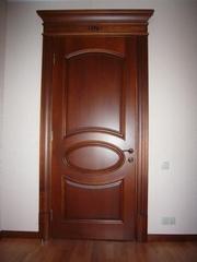 тонирование дверных блоков