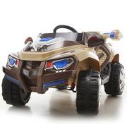 Новинка! Детский электромобиль Rage Rover 1428 Коричневый
