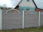 Еврозабор бетонный в Чернигове