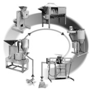 Универсальный комплекс оборудования для производства круп и муки(Крупорушка)