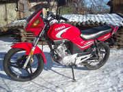 Мотоцикл Yamaha YBR - 125 в отличном состоянии продам
