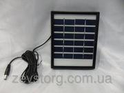 Солнечная панель Solar board 2W-6V+ mob. charger