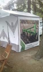 Реклама на тентах. Полноцветная печать на тентах палатках, шарах