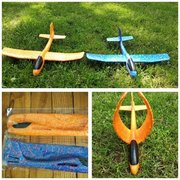 Чудо игрушка самолёт планер метательный