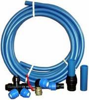 Трубы,  фитинги из полипропилена для водоснабжения