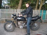 мотоцыкл Урал (переделан под дорожный)